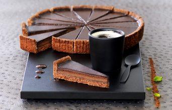 Tarte au chocolat pré-découpée x16