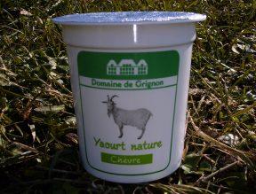 Yaourt nature au lait de chèvre